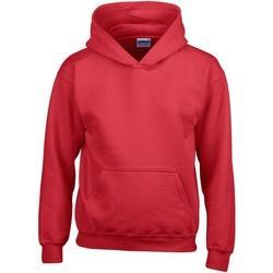 Textil Criança Sweats Gildan 18500B Vermelho