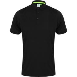Textil Homem Polos mangas curta Tombo TL565 Preto/preto