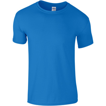 Textil Criança T-Shirt mangas curtas Gildan 64000B Saphire