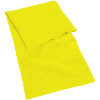 Acessórios Mulher Cachecol Beechfield B900 Amarelo