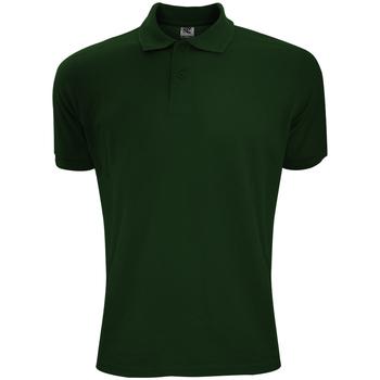 Textil Homem Polos mangas curta Sg Polycotton Garrafa Verde