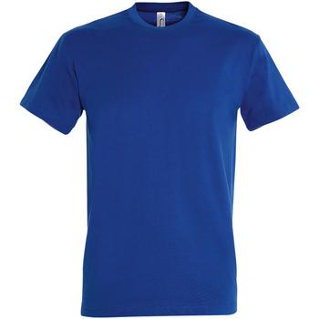 Textil Homem T-Shirt mangas curtas Sols 11500 Royal Blue