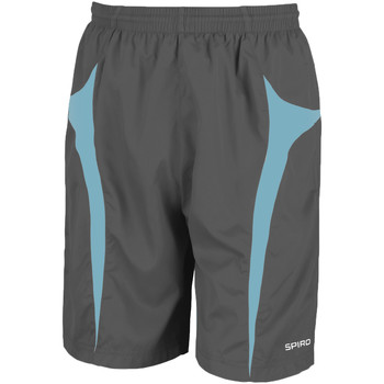 Textil Homem Shorts / Bermudas Spiro S184X Cinza/Aqua