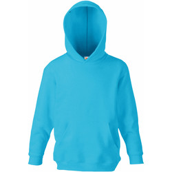 Textil Criança Sweats Fruit Of The Loom 62043 Azul-azul