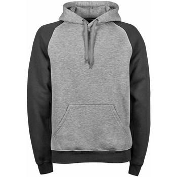 Textil Homem Sweats Tee Jays TJ5432 Heather Dark Grey