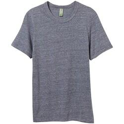Textil Homem T-Shirt mangas curtas Alternative Apparel AT001 Eco Marinha