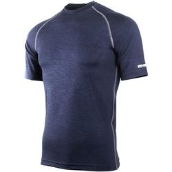 Textil Homem T-Shirt mangas curtas Rhino RH002 Marinha Heather