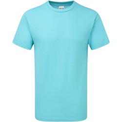 Textil Homem T-Shirt mangas curtas Gildan H000 Lagoon Blue
