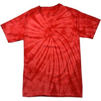 Textil T-Shirt mangas curtas Colortone Tonal Vermelho Aranha