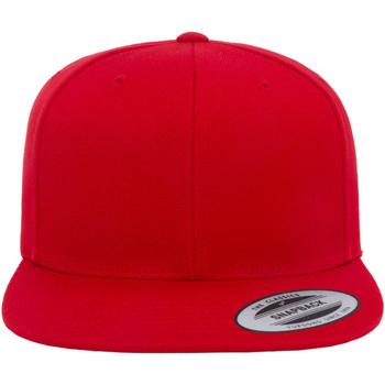 Acessórios Boné Yupoong FF6089M Vermelho/vermelho