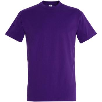 Textil Homem T-Shirt mangas curtas Sols 11500 Púrpura Escura