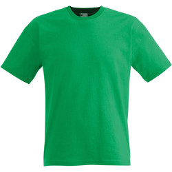 Textil Homem T-Shirt mangas curtas Universal Textiles 61082 Verde Brilhante