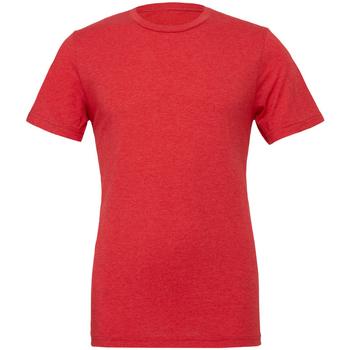 Textil Homem T-Shirt mangas curtas Bella + Canvas CA3413 Triblend vermelho