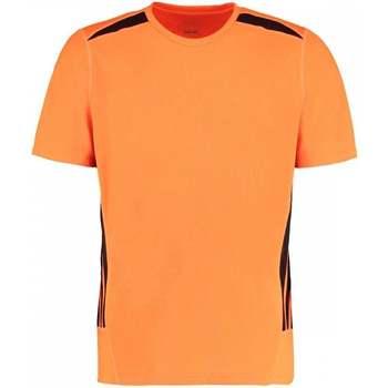 Textil Homem T-Shirt mangas curtas Gamegear KK930 Laranja Fluorescente/Preto