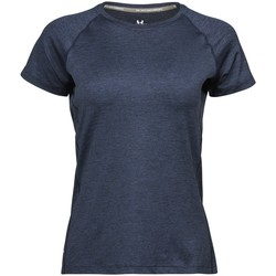 Textil Mulher T-Shirt mangas curtas Tee Jays Cool Dry Marinha Melange