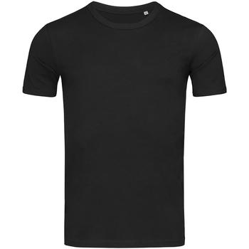 Textil Homem T-Shirt mangas curtas Stedman Stars Morgan Opala Negra