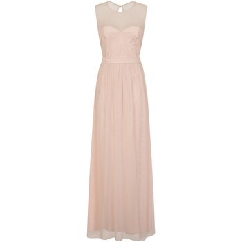 Textil Mulher Vestidos compridos Little Mistress  Pink