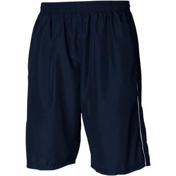 Textil Homem Shorts / Bermudas Tombo Teamsport Longline Marinha/ Branco