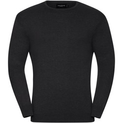 Textil Homem camisolas Russell J717M Carvão Vegetal Marl