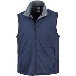 Textil Homem Casacos de malha Result R214X Azul-marinho