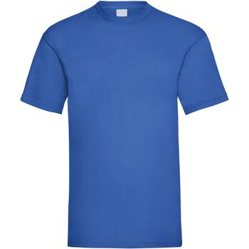 Textil Homem T-Shirt mangas curtas Universal Textiles 61036 Cobalto