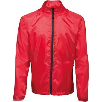 Textil Homem Corta vento 2786 TS011 Vermelho / Preto