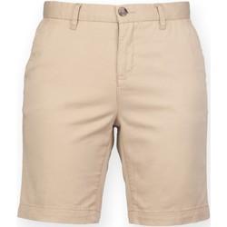 Textil Mulher Shorts / Bermudas Front Row FR606 Pedra