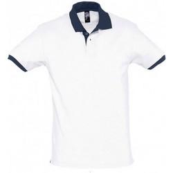 Textil Homem Polos mangas curta Sols 11369 Marinha branca/francesa