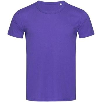 Textil Homem T-Shirt mangas curtas Stedman Stars Stars Lilás profundo