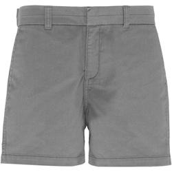 Textil Mulher Shorts / Bermudas Asquith & Fox AQ061 Slate