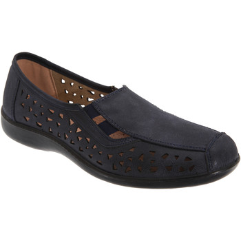 Sapatos Mulher Mocassins Boulevard  Azul-marinho