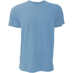 Textil Homem T-Shirt mangas curtas Bella + Canvas CA3001 Heather Columbia Blue