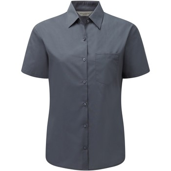 Textil Mulher camisas Russell 935F Cinza do comboio
