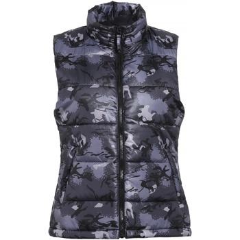 Textil Mulher Quispos 2786 TS15F Camo Grey