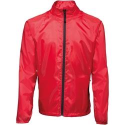 Textil Homem Corta vento 2786  Vermelho / Preto