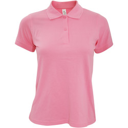 Textil Mulher Polos mangas curta B And C PW455 Pixel Pink
