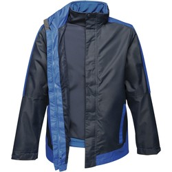 Textil Homem Corta vento Regatta RG664 Marinha/Novo Royal Blue