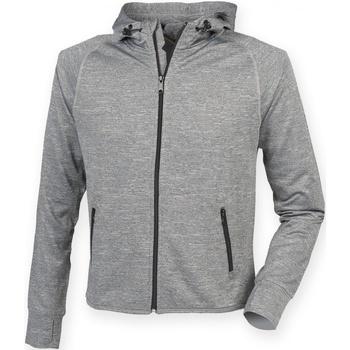 Textil Homem Sweats Tombo Teamsport TL550 Grey Marl