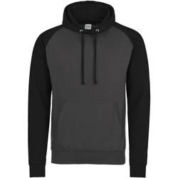 Textil Homem Sweats Awdis JH009 Carvão Vegetal/Jet Black