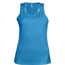 Textil Mulher Tops sem mangas Kariban Proact Proact Aqua Blue
