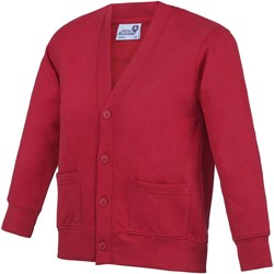Textil Criança Casacos de malha Awdis  Vermelho