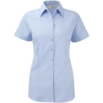 Textil Mulher camisas Russell 963F Azul claro