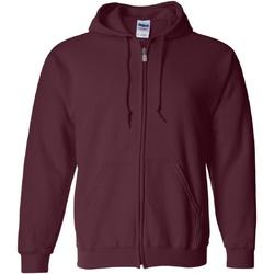 Textil Homem Sweats Gildan 18600 Maroon