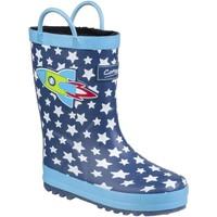 Sapatos Criança Botas de borracha Cotswold Sprinkle Foguetão Azul