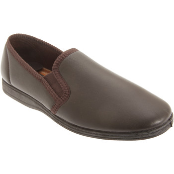 Sapatos Homem Chinelos Sleepers  Marrom Escuro
