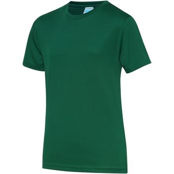 Textil Criança T-Shirt mangas curtas Awdis JC01J Garrafa Verde