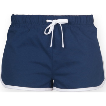 Textil Mulher Shorts / Bermudas Skinni Fit SK069 Marinha/ Branco