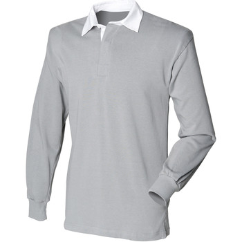 Textil Homem Polos mangas compridas Front Row Rugby Slate Grey