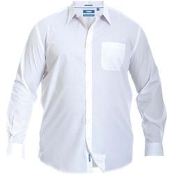 Textil Homem Camisas mangas comprida Duke  Branco