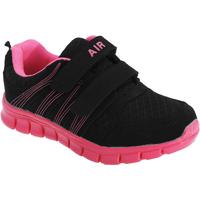 Sapatos Rapaz Multi-desportos Dek  Negro/Fúcsia